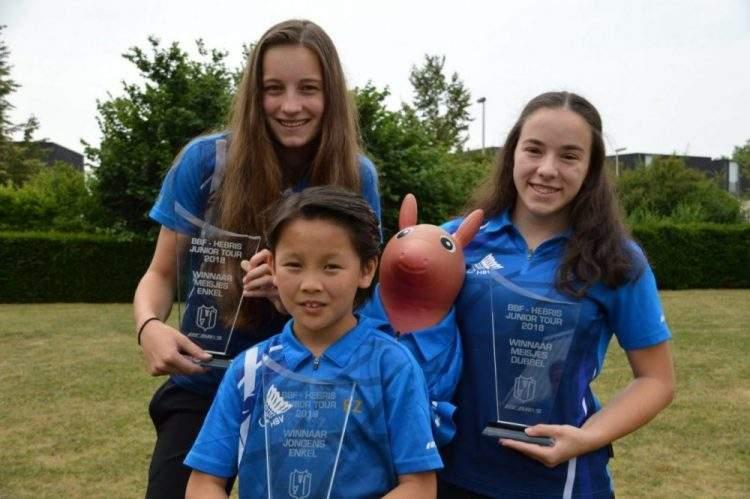 Regionaal kampioen 2018: Mirne Hoeks, Sjao Jacobs en Anne Ruijs